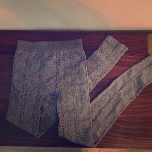 NWOT Nikibiki grey fashion legging